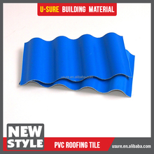 corrugated plastic roofing sheets / hot blue roofing shingles / Guangzhou new wave roofing sheet