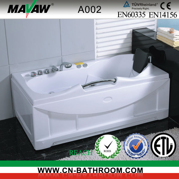 NEW hydro freestanding whirlpool bathtub A002