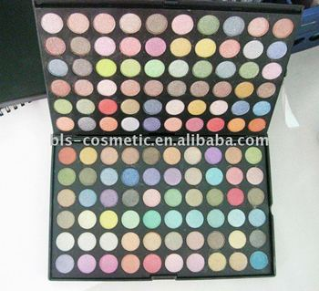 120colors shinny eyeshadow cosmetic OEM