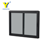 Interior office aluminium sliding glass window