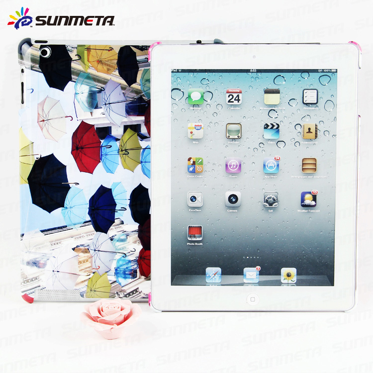 Customed phone cover blank 2D 3D sublimation case for ipad