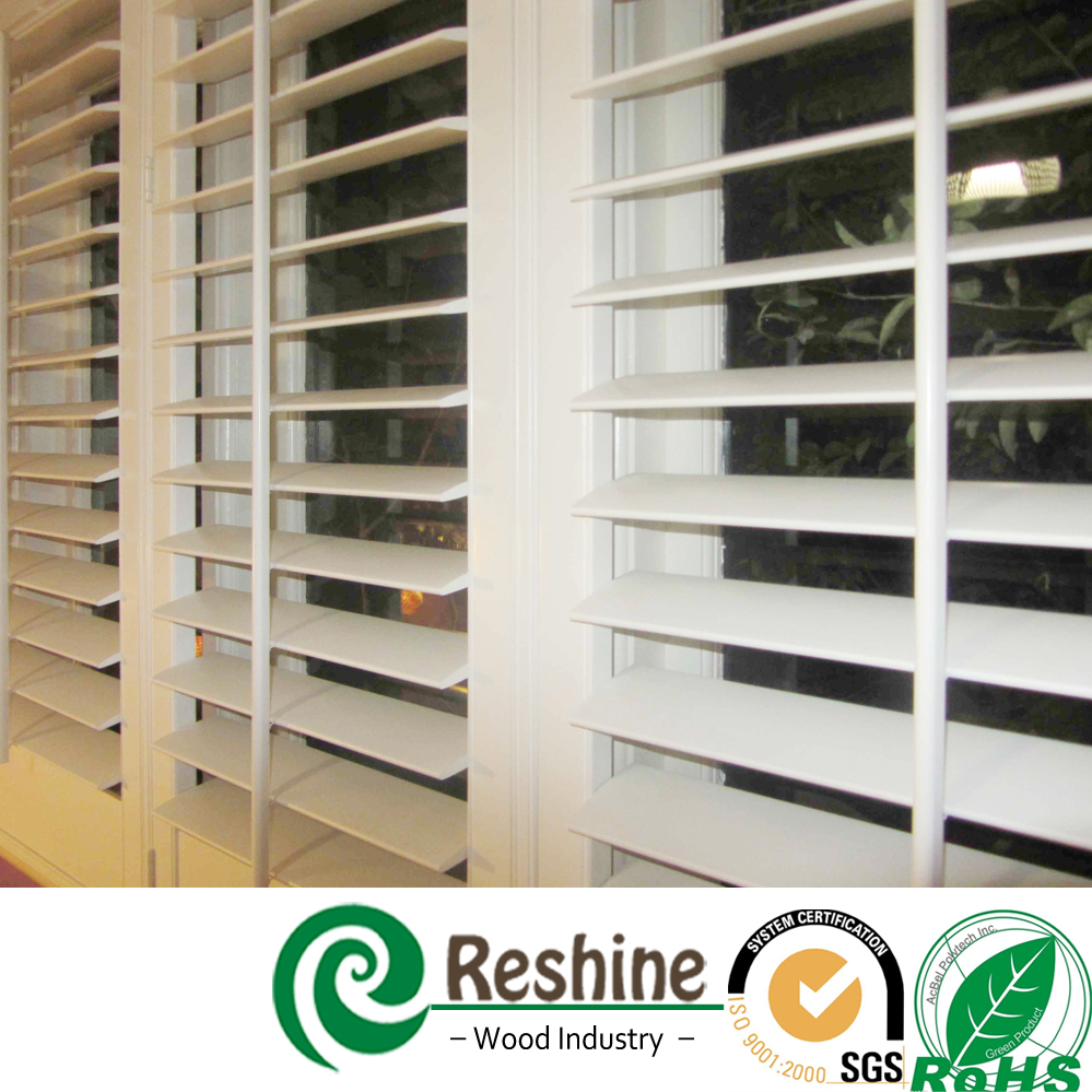 Decorative Interior Sliding Vinyl Shutter