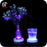 2016 new gadgets Hot Item Led Light Up Party Decoration Led Drink Pvc Coaster