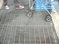 galv metal bar grating, galv drain grating,galvanized floor metal bar grilles