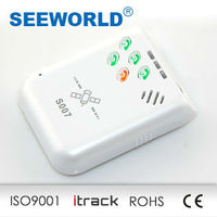 Support two way conversation five sos buttom micro tracker gps
