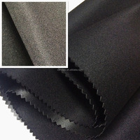 Polyester DTY twill fabric with foam coated for bag/luggage suzhou