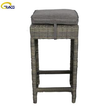 Garden chairs table set garden table set  rattan furniture pure color garden chair table set