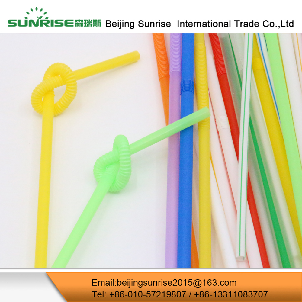 Disposable Hard Plastic Drinking Straw