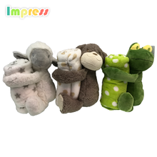 Custom plush baby <strong>toys</strong> kid china wholesale <strong>toy</strong> with blanket set