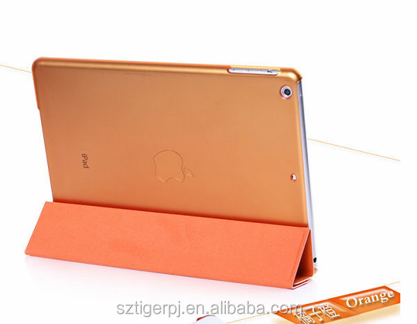Latest Leather Flip Hard Waterproof Case for Ipad Air from competitive factory