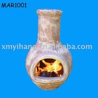 Oven BBQ clay chiminea wholesale