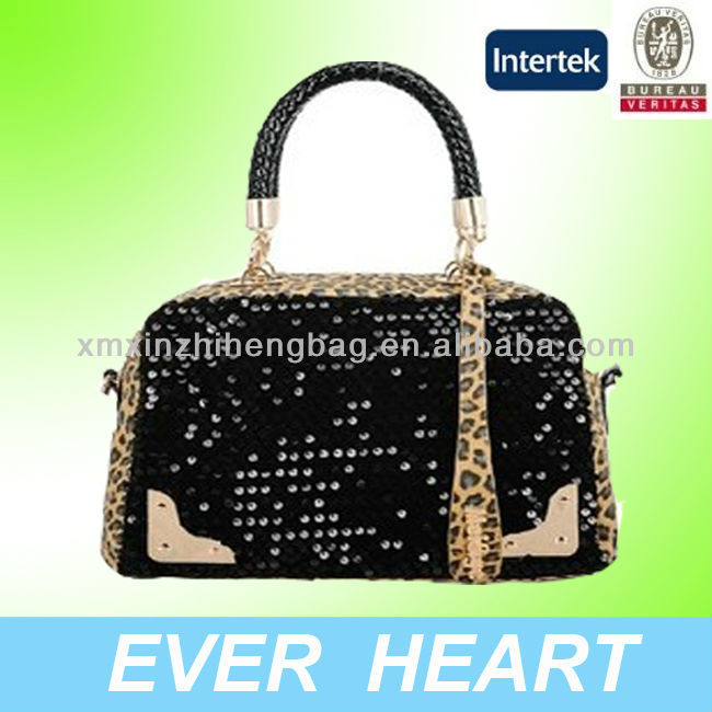 Shiny ladies PU hand bags,PU leather bags <strong>fashional</strong> style
