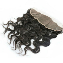wholesale price human virgin hair 13*4 Peruvian virgin hair body wave lace frontal piece