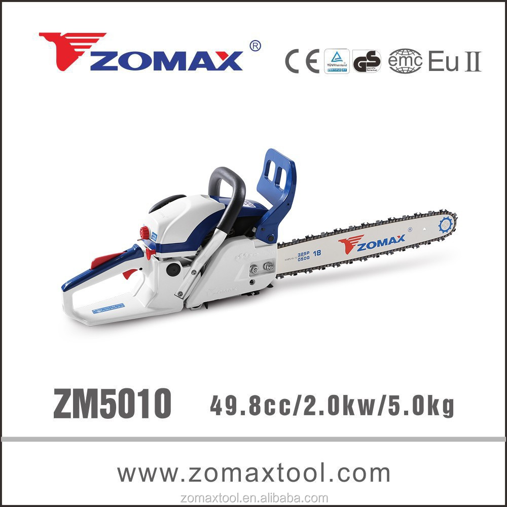 world best selling products 52cc ZM5010 2.0kw ways save gasoline with chainsaw advanced technology and innovation
