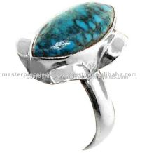 Fantastic Marchasite Oxidized Ruby Ring, Oxidized Silver Jewellery, Silver Jewellery India