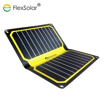 Support OEM Portable ETFE Solar Power 11.3W Waterproof Foldable Solar Charger for Mobile Phone