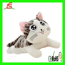 OEM cute children gift toy dancing animated plush stuffed white cat