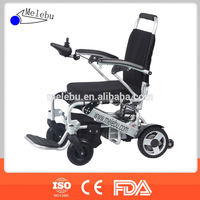 Folding portable small electric wheelchair