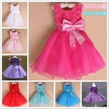 Summer Wear Kids Sexy Wedding Night Girls Princess Dresses