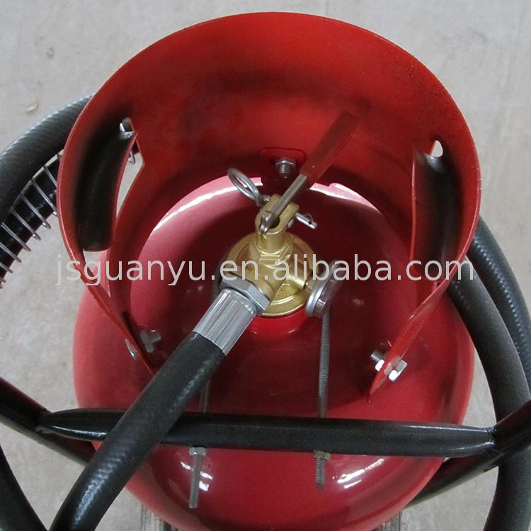 Fire fighting system used equipment fire extinguisher clamp