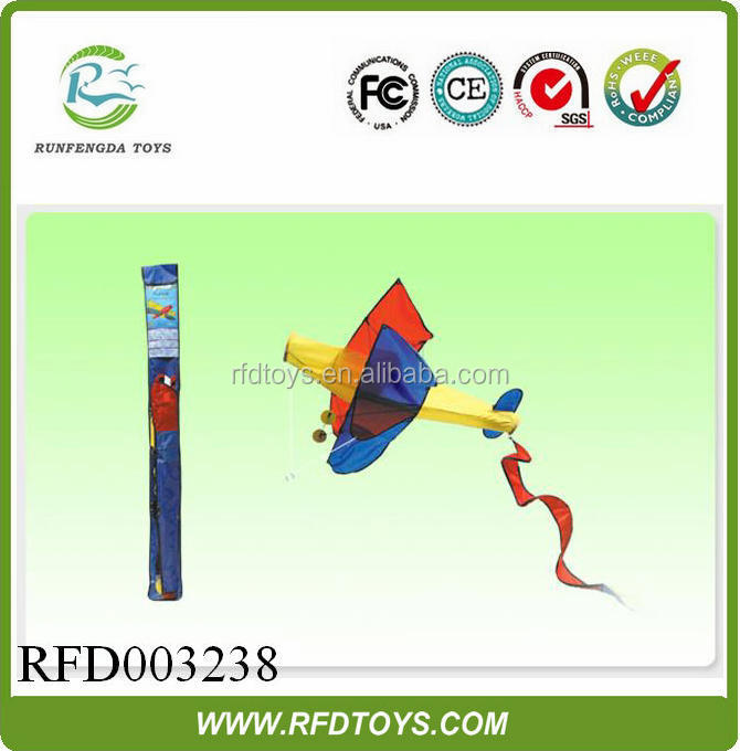 Hot sale 3d kite of plane outside door game the kite factory