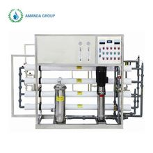 Stable flow ratefilter RO reverse osmosis sea water systems desalting machine