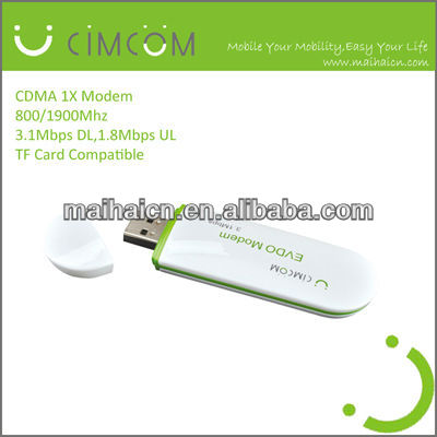 cheap price cdma sim card modem / 3g usb data card for cdma- MH6085