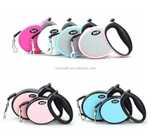 retractable dog leash with flat tape leash Pet dog Training Flexible Leash Harness Dog Lead 3M 4M 5M