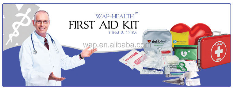 WAP'R Customized mini first aid kit