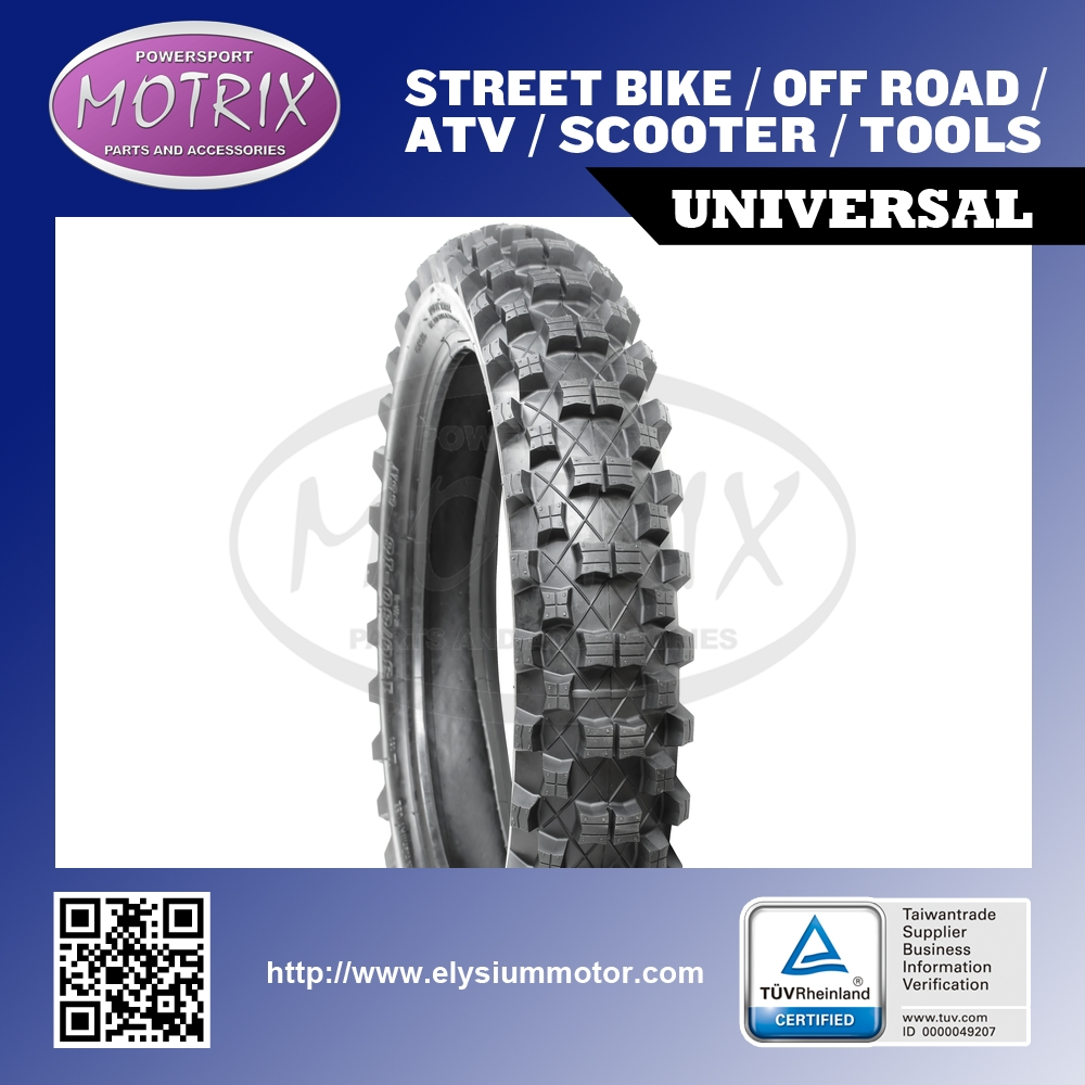 Motorcycle Tyre Off road Motocross Tires 130/80-18-M04