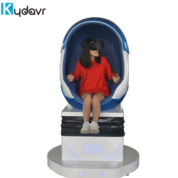 Attractive design 9D one seat virtual reality movie game simulator