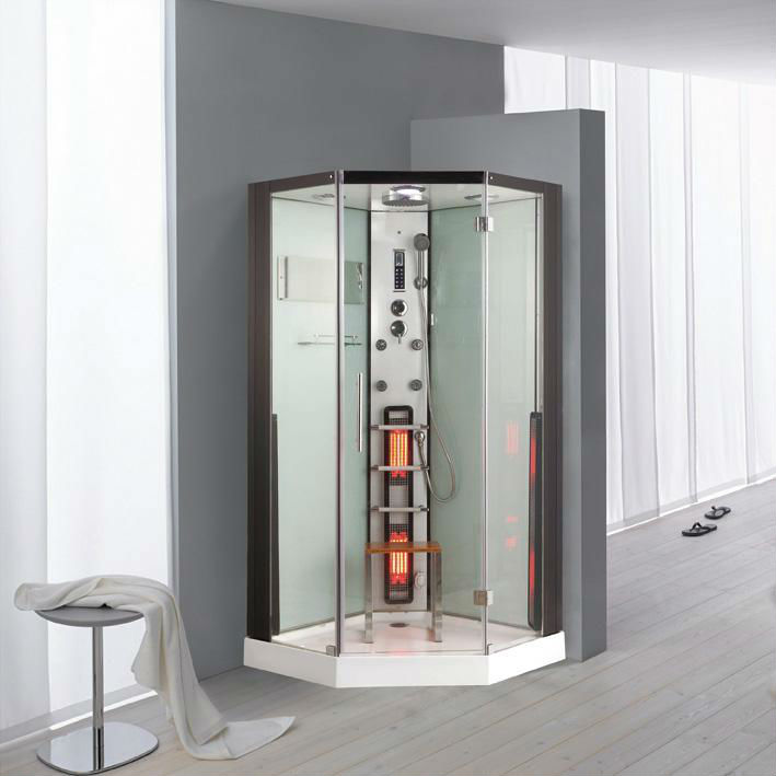 New Infrared Sauna Steam Shower Room Combination K083 Buy New