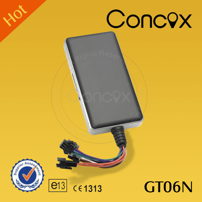 Concox easy to hide gps tracker for car/ motorcycle/bike GT06N fully functional