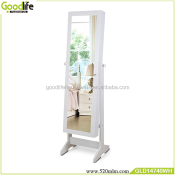 Wooden jewelry holder parts for wardrobe sliding door