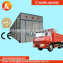 bus spray paint baking booth/spay paint drying cabin design