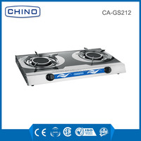 infrared ray burner strong stainless steel gas stove CA-GS212 cooker for sale