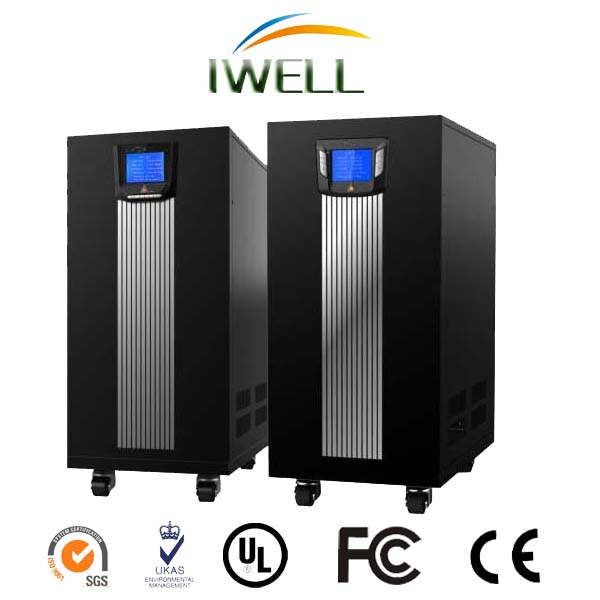 IWELL brand high technology 30kva 3phase 380v CCTV power supply online low frequency ups