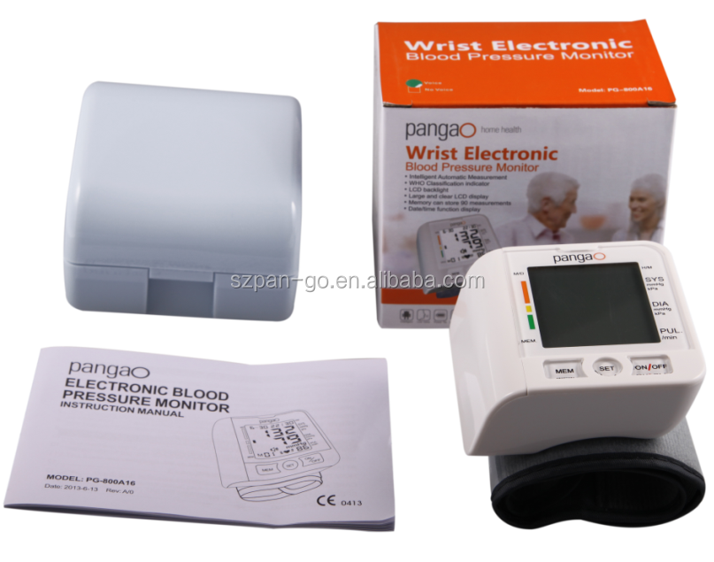 FDA approved Digital Wrist Digital Blood Pressure Monitor