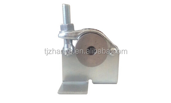 Scaffolding Coupler -Solid Plate Board Retaining Clamp