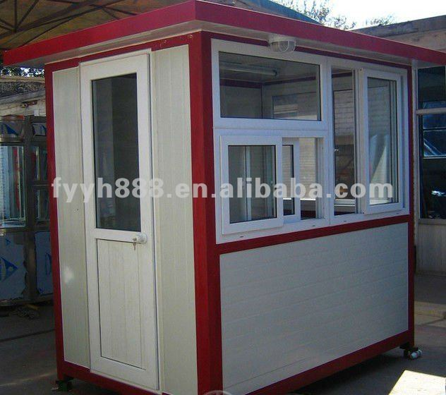 prefabricated security Kiosk