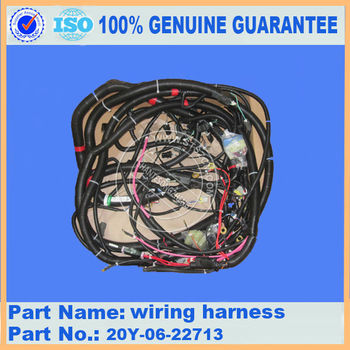 excavator genuine parts wiring harness PC200-7 201-06-73134, excavator spare parts Fast delivery ! !