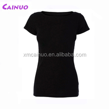 Slim fit tshirts women cotton polyester t shirt designer