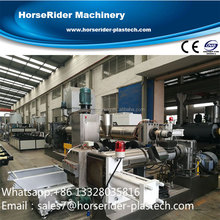 High quality plastic recycling and granulation line/waste plastic recycling machine/recycle plastic machine
