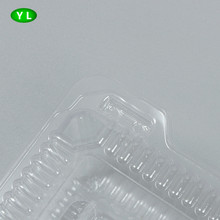 Customized disposable plastic tray pet tray for food