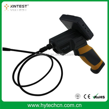 HT-660 3.5 inch LCD Screen 300000 Pixels Flexible Pipe Portable Digital Video Borescope