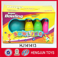 China toy factory Hot sale plastic kids sport mini bowling set