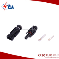 MC4 compataible solar panel connector,pv cable connector