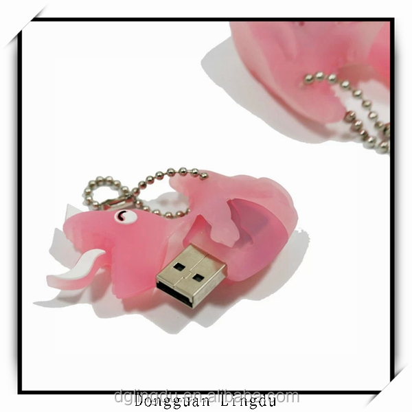 2015 fashionable design silicone USB flash drive/usb flash drive skin
