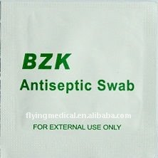 Bzk Antiseptic Swab for cleaning