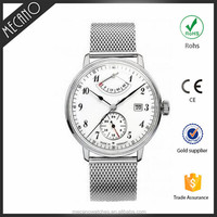 OEM Watch Manufacturer Relogio Masculino 2015 Sapphire Crystal Stainless Steel Western Watch